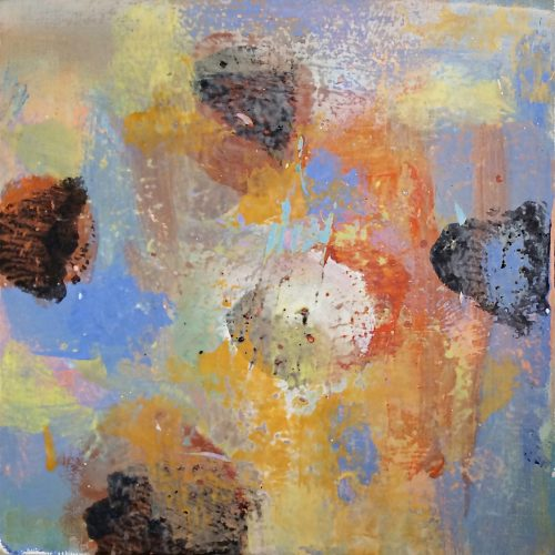 Untitled – 5 x 5, 2013, acrylic on canvas, private collection